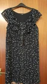 M&S size 16 chiffon dress