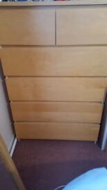 6 drawer chest Ikea