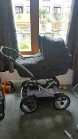 Mamas and Pappas pram and accessories