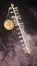 Job lot Sass & Belle 'my Jewellery' holders