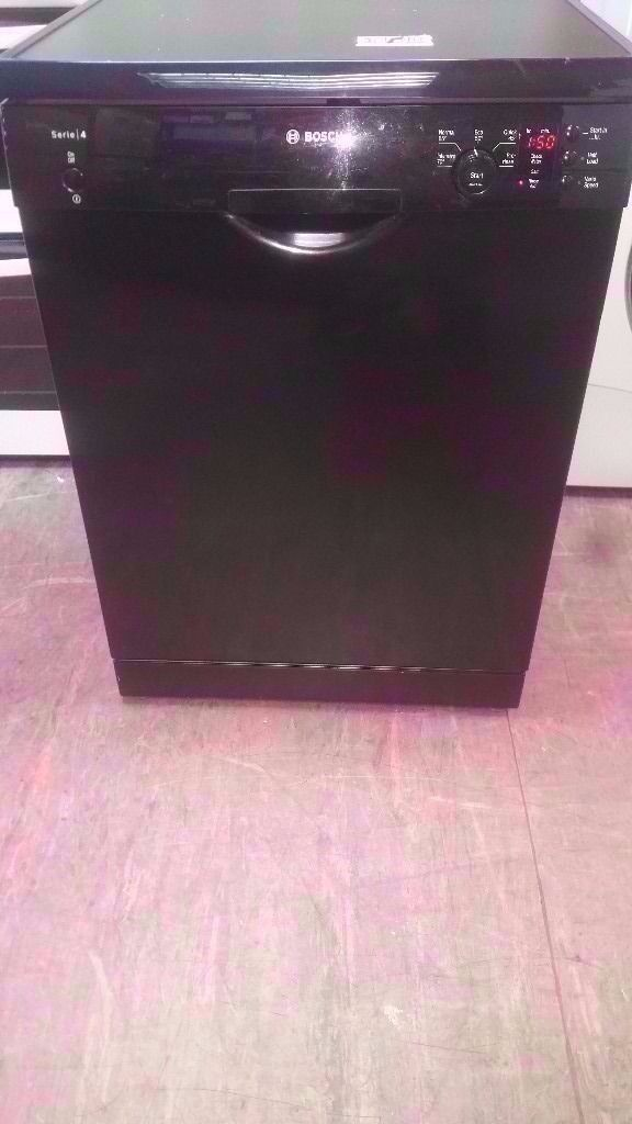 Bosch Black A+ Class Dishwasher in good condition and working order £85