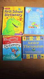 CHILDREN'S BOOKS DICTIONARIES AND THESAURUS