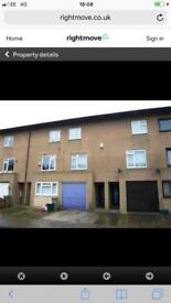 Three bedroom house to let rent