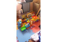 Selection job lot of kids, baby toys, mostly range from age 0-5, car boot sale
