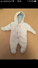 Baby SnowSuits X2 from mothercare