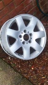 Alloys need tyres
