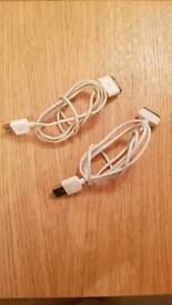 IPad Or IPhone cables x 2