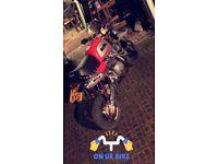 50cc custom monkey bike