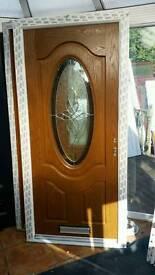 Composite Door Light Oak BRAND NEW 980x2080 Delivery avail