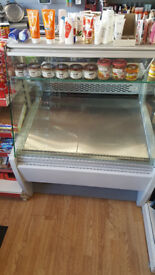 Only 6 mths old Frilixa Maxime 10F Flat Serve Over Counter Flat Glass commercial shop display fridge