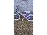 "Girls apollo bike 12"""