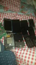 Joblot phones. Spares repairs