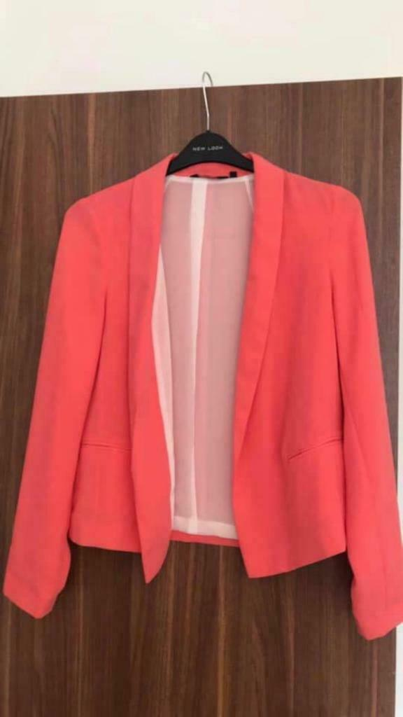 2f0a12d40 New look coral blazer (size 12) | in Wickford, Essex | Gumtree