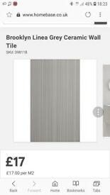 wall tiles 75 SQM Job Lot RRP £1300 3 colours and designs