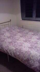 New double bed metal.