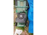 QUALCAST 3.5 HP Quantum Power Suffolk TURBO 40 Petrol Lawn Mower