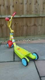 Fisher Price 'Grow With Me' scooter