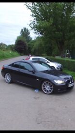 BMW 320i MSport Black Coupe