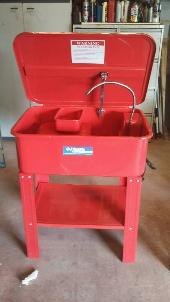 Parts washer. New.