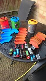Take and play thomas and friends spiral train set