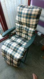 2 x Reclining Garden Chairs