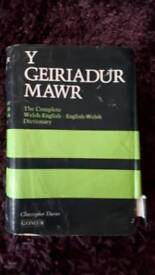 Y Geiriadur Mawr - complete Welsh-English Dictionary