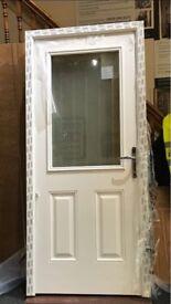 Composite Door Clear Glass Brand New 925 x 2100
