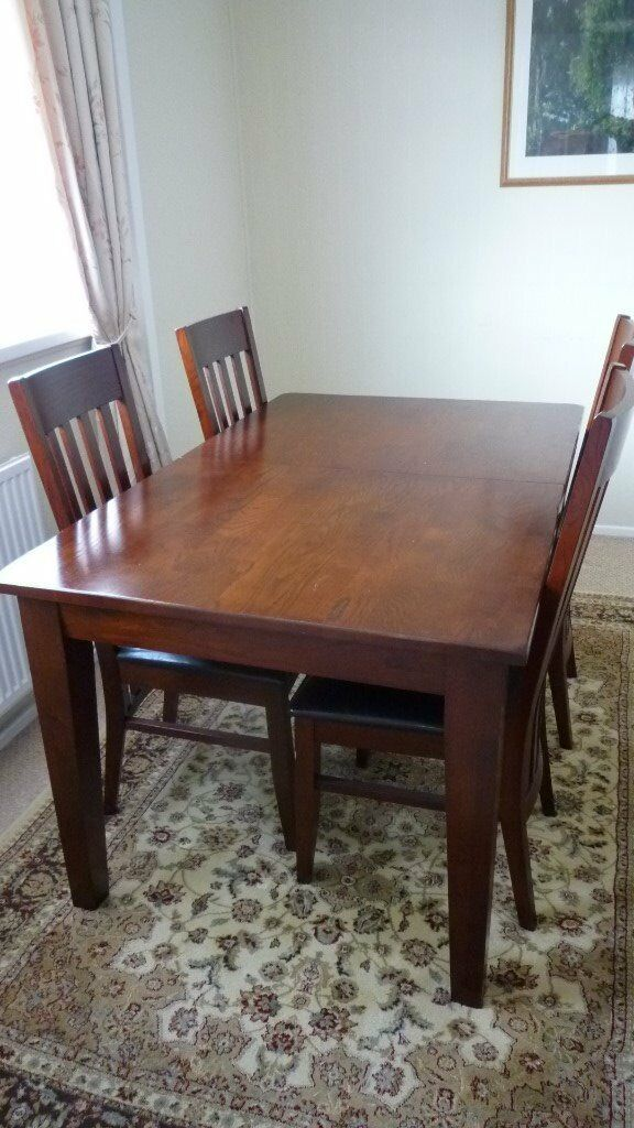 Harveys Compton Dining Table Sideboard and 4 chairs in Plymouth