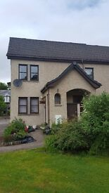 Two bedroomed upper floor self-contained unfurnished flat for rent in Kingussie
