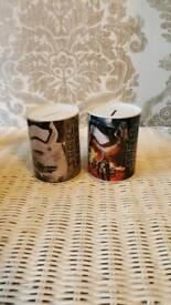 2 x Star Wars money tins
