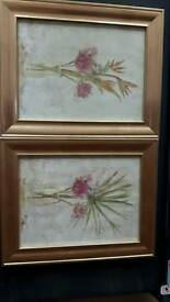 Two Framed Prints By Cheri Blum