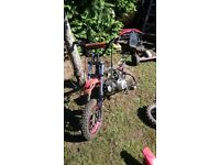 Pit bike parts for sale 110 125 cc