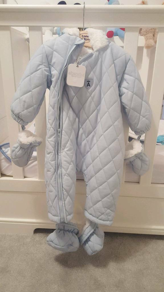 Boys absorba snowsuit 12m