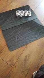 Set of glass hob covers