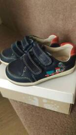 Boys clarks first shoes. 5f