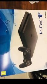 Mint condition boxed PlayStation 4