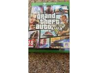 For sale xbox one grand theft auto 5