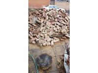 Rubble & red bricks FREE