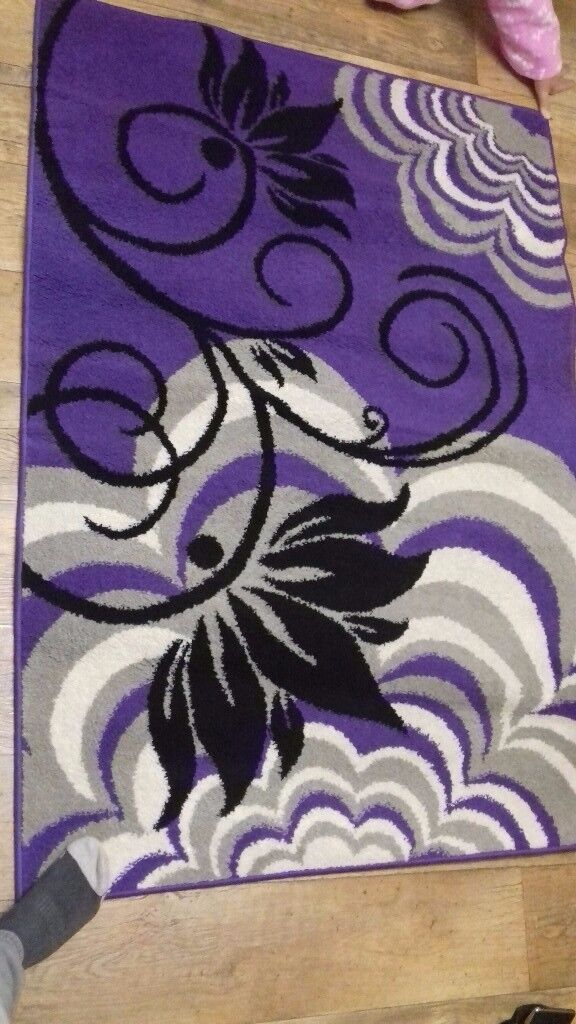 Large purple rug for sale