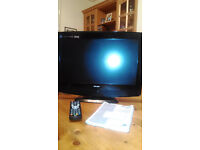 "Bush 19"" TV with DVD"