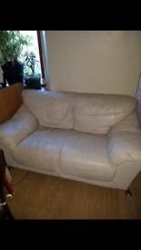 Leather sofa FREE!!!!