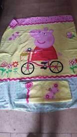 Peppa pig cot bedding
