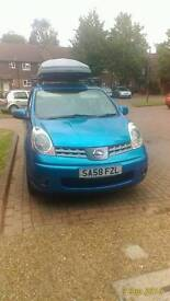 Nissan note 1.6 2008