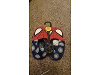 Slippers spider man