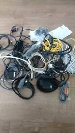Job lot of cables all sorts