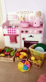 Girls wooden kitchen
