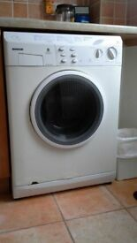 Hoover washing machine (washer dryer) WDM120, 1200rpm spin speed. used.