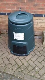 Straight Compost Converter 220 ltr Green