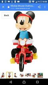 Mickey Mouse cycle spin
