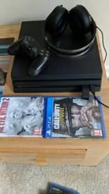 PS4 Pro plus accessories